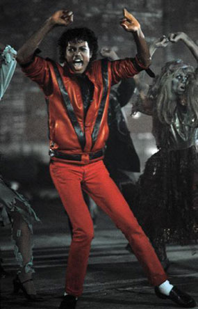 Thriller Leather Theme Jacket