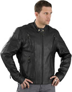 C5410 Scooter Vented Leather Jacket